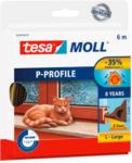 POCO tesamoll® P-Profil-Gummidichtung ca. 6 m x 9 mm x 5,5 mm braun
