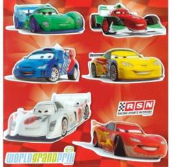 3D-Wandsticker Cars