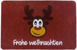 Fußmatte Elch rot ca. 40 x 60 cm