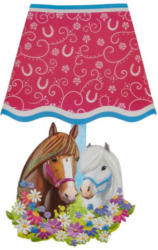 Wandsticker Pferd mit Licht