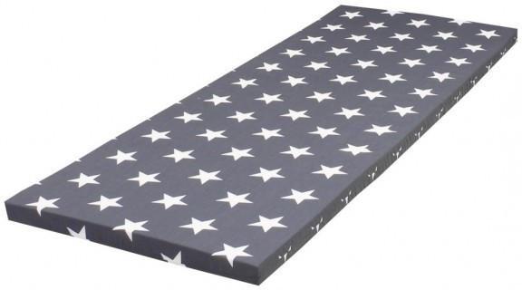 Rollmatratze ComfortPur anthrazit/Sterne, 70 cm