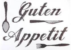 """Wandtattoo """"Guten Appetit"""""""