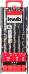 Kombi-Bohrer-Kassette 9-tlg.