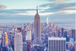 Glasbild 90x60 cm View for NY