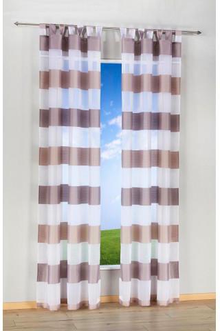 Kombi-Dekoschal Mia, beige-taupe, ca. 140 x 245 cm