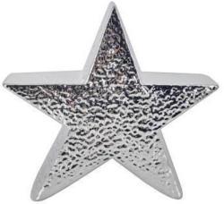 Deko-Stern silber ca.19x18cm