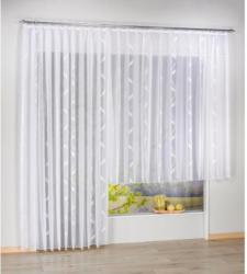 Fertig-Store Tina, weiß, ca. 245 x 300 cm