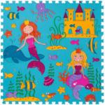 POCO Schaumstoff-Puzzle Meerjungfrau, bestehend aus 9 je ca. 33 x 33 cm großen Puzzlestücken