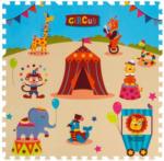 POCO Schaumstoff-Puzzle Zirkus, bestehend aus 9 je ca. 33 x 33 cm großen Puzzlestücken