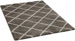Teppich Monza ca. 80 x 150 cm anthrazit