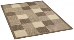 Teppich Amazonas ca. 120 x 170 cm grau Kästchen