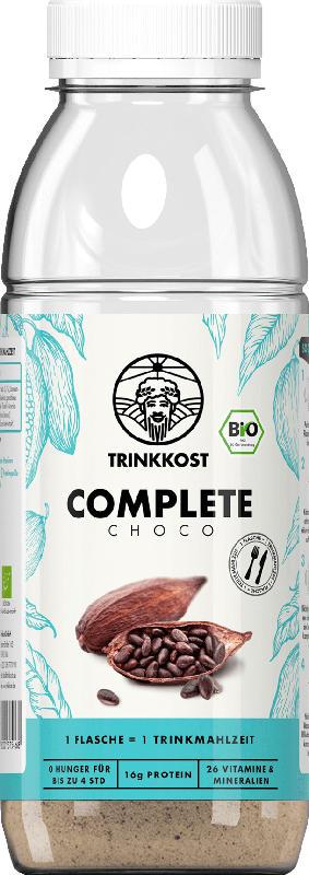 Trinkkost Mahlzeitenersatz COMPLETE Schoko Shake Pulver für eine ausgewogene Mahlzeit, 1 Mahlzeit zum Probieren