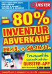 Quester Baustoffhandel GmbH Quester Flugblatt 07.11. bis 22.11. Baustoffe & Fliesen - bis 22.11.2019