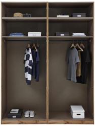 Kleiderschrank Unit Schrank Offen,breit ca.182,2cm