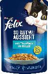dm-drogerie markt Felix Nassfutter für Katzen, Adult, So gut wie es aussieht mit Thunfisch