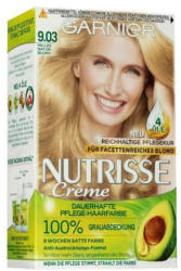 GARNIER Nutrisse Creme dauerhafte Pflege-Haarfarbe Nr. 9.03 Helles Naturblond
