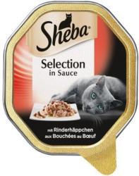 Sheba Katzennassfutter Selection Rinderhäppchen in Sauce