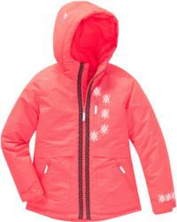 Mädchen Schneejacke im Neon-Look