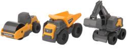 3 Volvo Mini Workers Baustellen-Fahrzeuge
