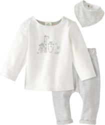 Newborn Shirt, Hose und Bandana im Set (Nur online)