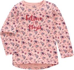 Mädchen Langarmshirt mit Allover-Print