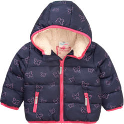 Baby Winterjacke mit Plüschfutter