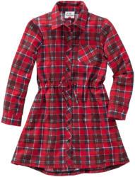 Mädchen Blusenkleid im Karo-Look (Nur online)