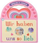 """Ernsting's family Baby Buch """"Wir haben uns so lieb"""""""
