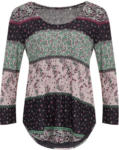 Ernsting's family Damen Shirt mit Block-Alloverprint