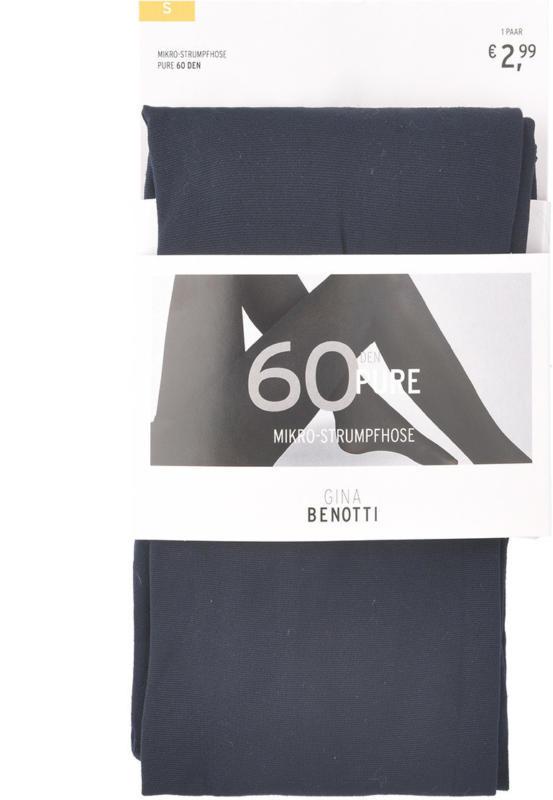 Damen Mikro-Strumpfhose mit 60 DEN (Nur online)