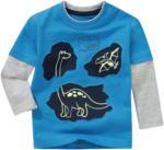 Ernsting's family Baby Langarmshirt mit Glow-in-the-Dark-Effekt