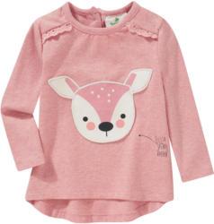 Baby Langarmshirt mit Reh-Applikation