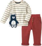 Ernsting's family Newborn Langarmshirt und Hose