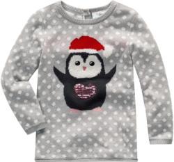 Baby Pullover mit Pinguin-Motiv