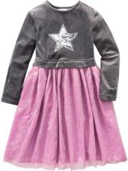 Festliches Mädchen Kleid mit Wendepailletten