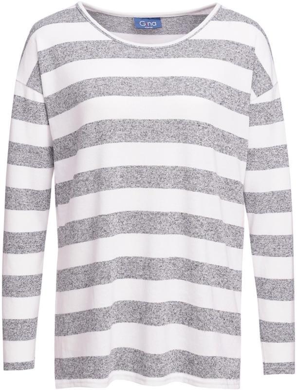 Damen Langarmshirt mit Blockstreifen (Nur online)