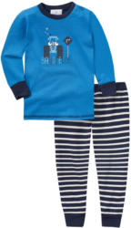 Baby Schlafanzug mit Baustellen-Print