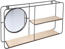 Wandregal mit Spiegel (Nur online)