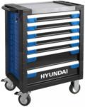 Möbelix Werkstattwagen Set 305-teilig Blau, Schwarz