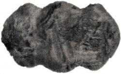 Fellteppich Mia ca. 55 x 95 cm grau-mix