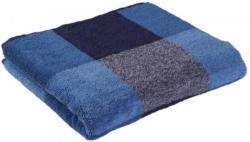Handtuch Karo blau 50 x 100 cm