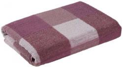 Handtuch Karo mauve 50 x 100 cm