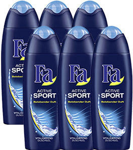 FA Duschgel 6er jede 6 x 250-ml-Packung