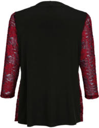 m. collection 2-in-1 Shirt in Jacken-Optik