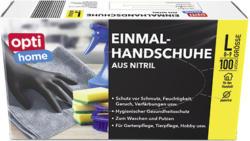 optihome Einmal-Handschuhe