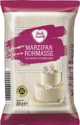 Back Family Marzipan Rohmasse