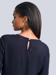 Alba Moda Bluse mit wunderschöner Spitze am Arm