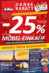 kika Möbel kika - Danke-Rabatt verlängert - gültig bis 19.11. - bis 19.11.2019