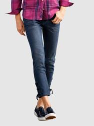 Dress In 3/4 Jeans in Laura Slim