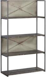 Regal 80/139/32 cm Grau